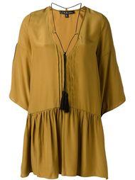 короткое платье с рюшами и кисточкой For Love And Lemons