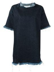 джинсовое платье-футболка Marques'almeida