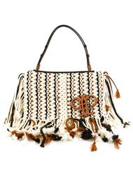 сумка-тоут с бахромой Emilio Pucci