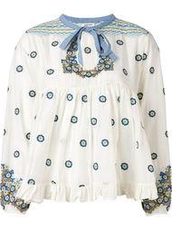 блузка с оборками  Manoush