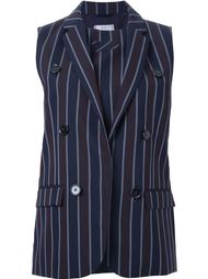 pinstriped double breasted waistcoat 22/4 By Stephanie Hahn