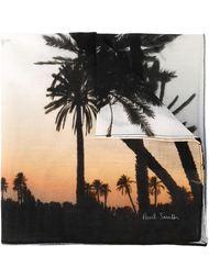 нагрудный платок с принтом пальм Paul Smith