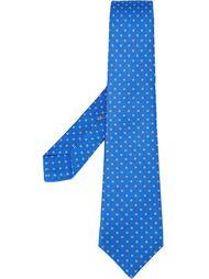 галстук с мелким узором Kiton