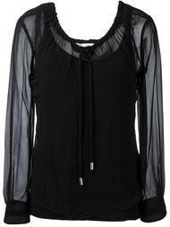полупрозрачная блузка Max Mara