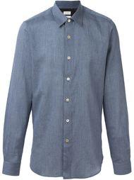 меланжевая рубашка на пуговицах Paul Smith
