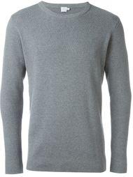 свитер с круглым вырезом   Sunspel