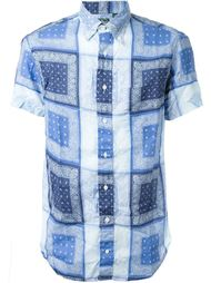 рубашка  с принтом пейсли   Gitman Vintage