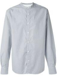 полосатая рубашка с воротником-стойкой Officine Generale