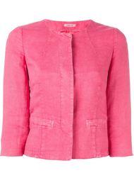 welt pockets fitted jacket Lardini