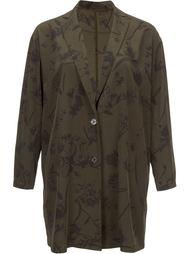 пальто с цветочным принтом En Route