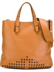studded tote Tod's