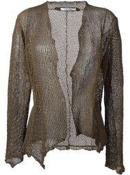 perforated jacket Salvatore Santoro