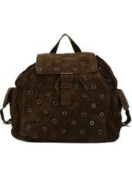рюкзак с люверсами Prada Vintage