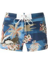 tropical print swim shorts Dsquared2 Beachwear