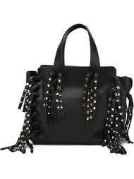 сумка-тоут с бахромой 'Rockstud' Valentino Garavani