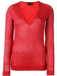 v-neck shimmer sweater Missoni