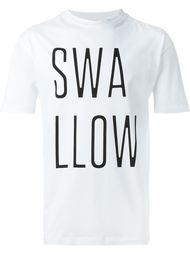 футболка с принтом 'Swallow' McQ Alexander McQueen