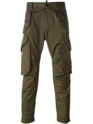 брюки-карго с радужными полосками Dsquared2