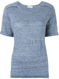 футболка с оборками  Frame Denim