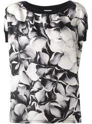 креповый топ с цветочным принтом Moncler