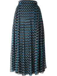 geometric print skirt Fendi
