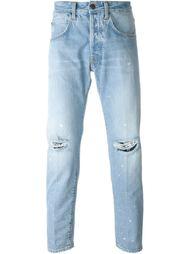 джинсы кроя слим   +People
