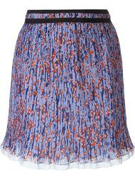 плиссированная мини юбка Carven