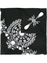 шарф с принтом драгоценностей Givenchy