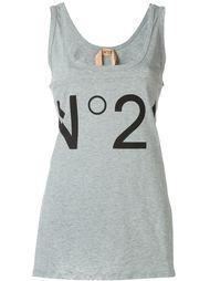топ с принтом-логотипом Nº21