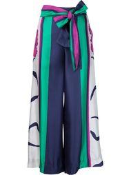 брюки с поясом Tanya Taylor