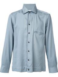 рубашка с контрастной окантовкой Umit Benan