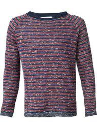 свитер в полоску Umit Benan