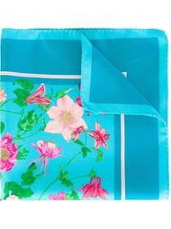 нагрудный платок с цветочным принтом Kiton