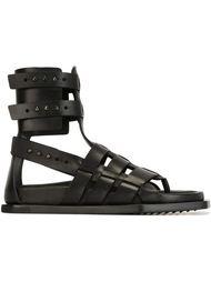 сандалии-гладиаторы Rick Owens