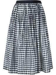 плиссированная юбка в клетку Comme Des Garçons Tricot