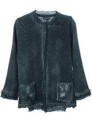 пиджак с потертой отделкой и бусинами Avant Toi