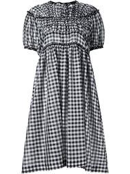gingham print midi dress Comme Des Garçons Tricot
