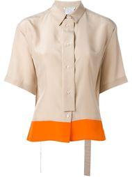 асимметричная рубашка  Emilio Pucci