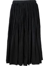 плиссированная юбка А-образного кроя Comme Des Garçons Tricot