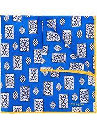 нагрудный платок с геометрическим принтом Kiton