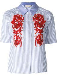 рубашка с вышивкой Tory Burch