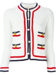 contrast stripe cardigan Muveil