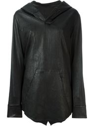 кожаная куртка-кейп Rta