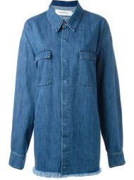 свободная джинсовая рубашка  Marques'almeida