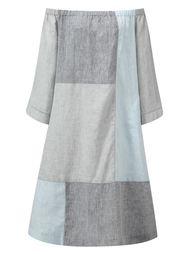 лоскутное платье с открытыми плечами Lisa Marie Fernandez