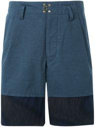 two tone jersey shorts Kolor