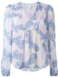 блузка 'Papillon Ombre Periwinkle' Diane Von Furstenberg