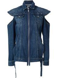 джинсовая рубашка с прорезями Hood By Air