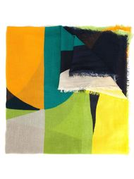 шарф с геометрическим узором  Faliero Sarti