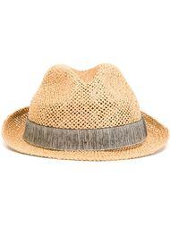 соломенная шляпа Armani Collezioni